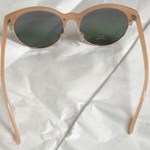 b23c7dfb17c Old Navy Accessories - Old Navy Vintage Pink Half Frame Sunglasses